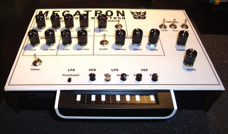 Megatron - Modified Korg Monotron