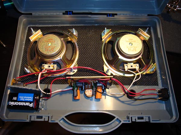 Inside Speakers